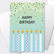 Birthday cards available to personalize and print.