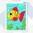 Colour by Numbers - Tropical Fish