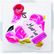 Valentine Gift Wrap Tag