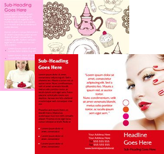 This Brochures design is available to print and personalise.