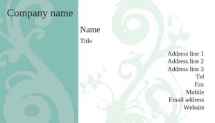 Free printable business card templates creative center beauty salon 2 reheart Images