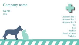 Free Business Cards For Pet Care Creative Center