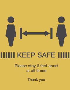 Keep Safe 6 Feet