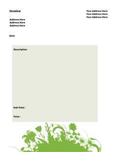 free printable greenery creative center