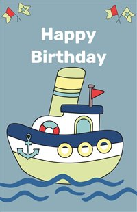 Birthday Boat