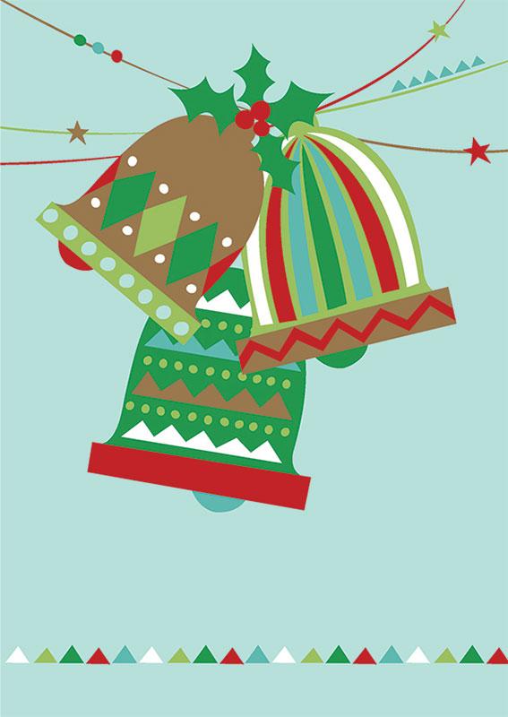 Immagini Piccole Di Natale.Piccole Campane Di Natale Gratuito Stampabile Creative Center