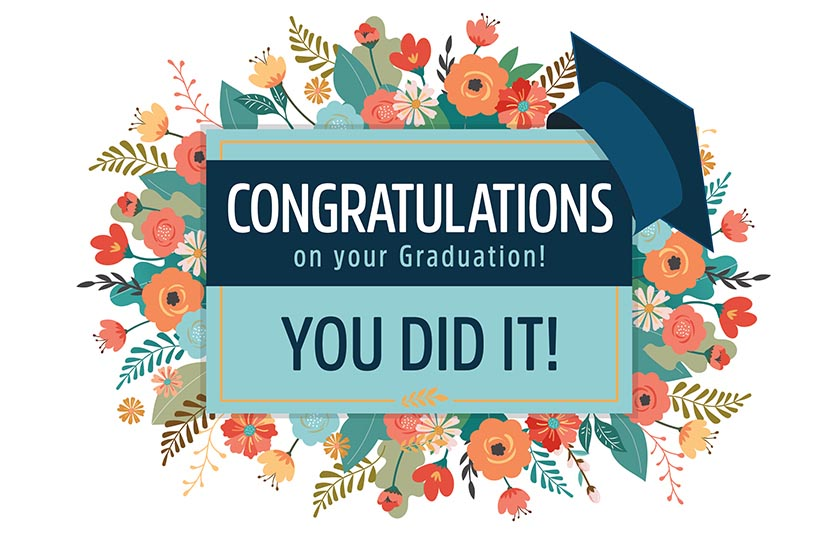 Graduation - You Did It!