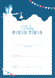 Baby Prediction Card