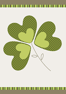 Lucky Shamrock Card 2