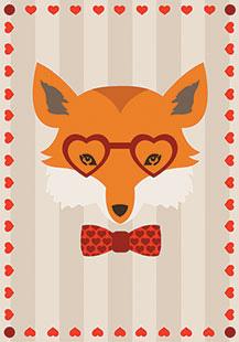 Materiale gratuito stampabile in san valentino creative - Animale san valentino clipart ...