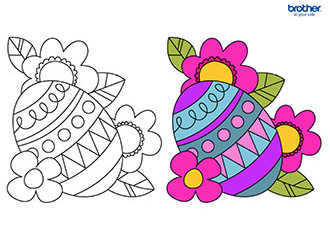 Easter Coloring 10