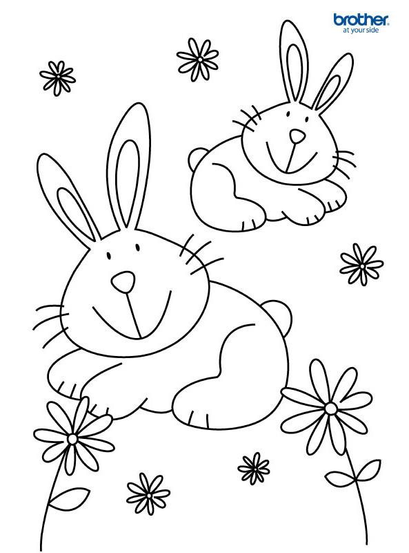 Free Printable Easter Colouring 2 Creative Center