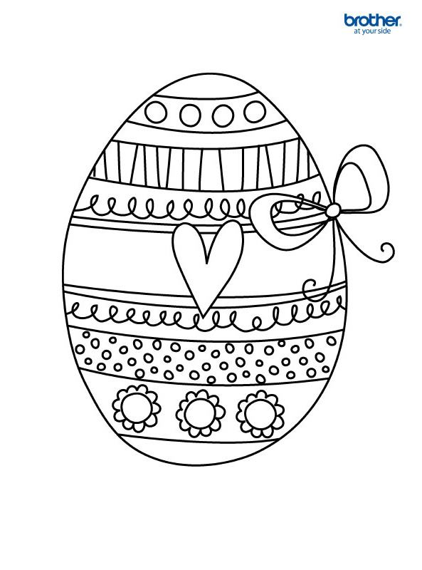 Easter Coloring 3