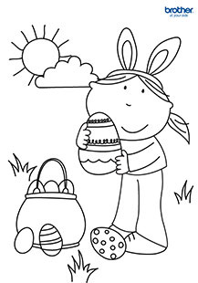 Easter Coloring 4