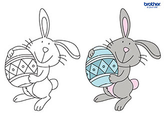 Easter Coloring 9