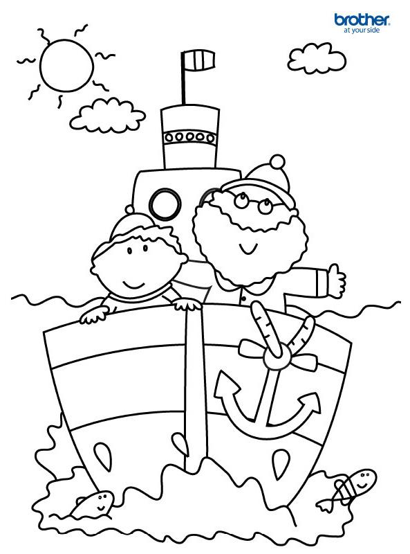 Kostenlos Druckbar Vatertag Ausmalbild 4 Creative Center