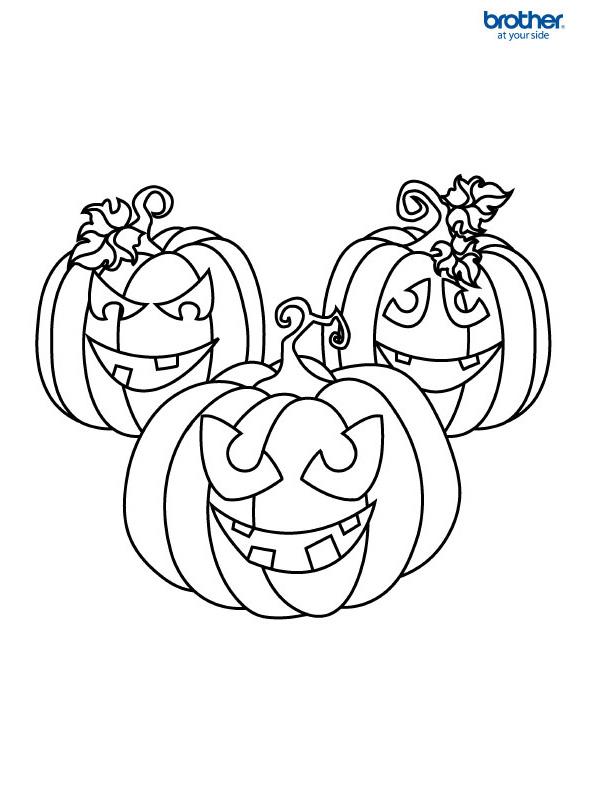 Kostenlos druckbar: Halloween Ausmalbild 2   Creative Center