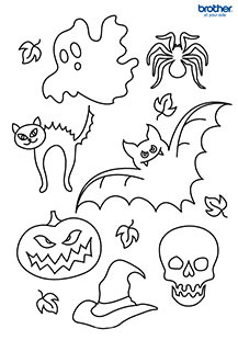 Halloween Coloring 5