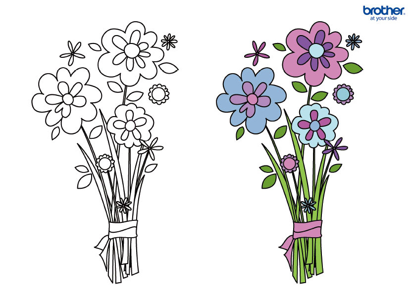 Mother's Day Coloring 6
