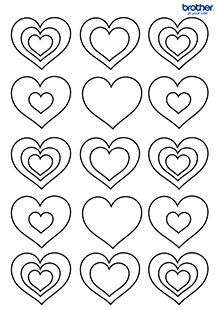 Valentine Colouring 4