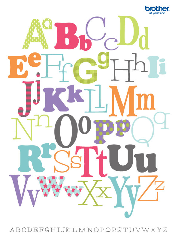 Stupendous image with alphabet poster printable