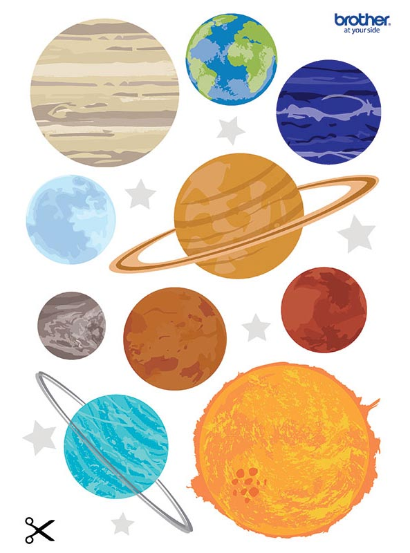 Free Printable Planet Cut Outs Creative Center