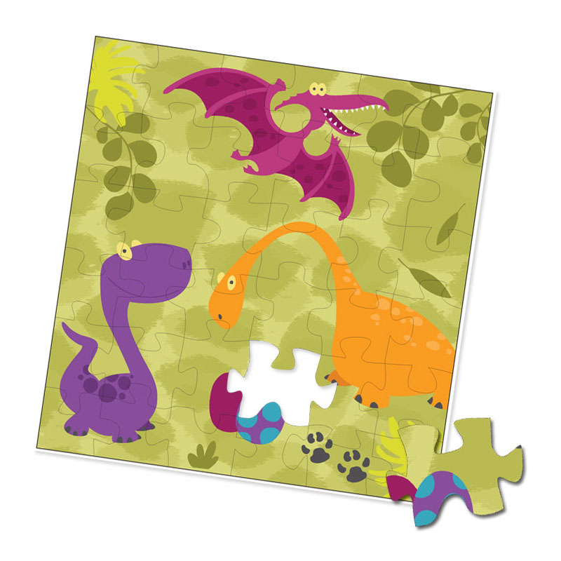 Dinosaurier Puzzle
