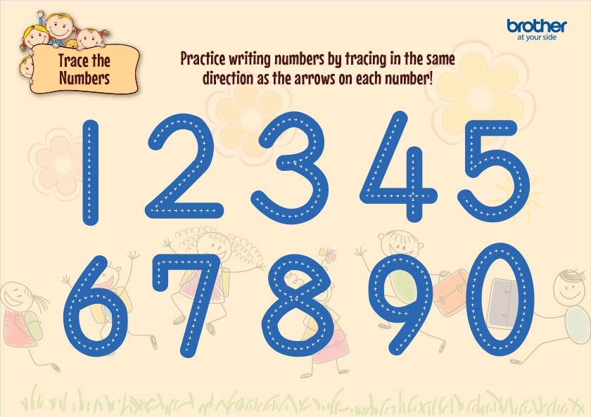 Trace the Numbers