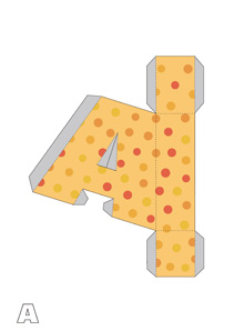 alphabet-abc-paper-crafts-origami-l-us  D Letter B Template on cut out, printable box,