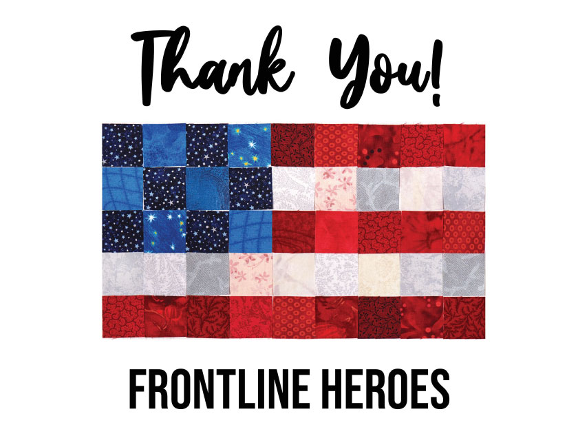 Thank you frontline heroes