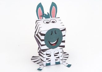 Free paper craft origami for do it yourself projects creative center zebra solutioingenieria Choice Image