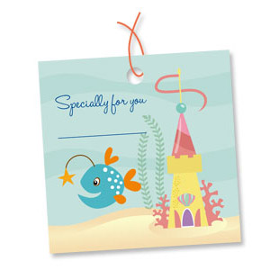 Mermaid Party Gift Tags