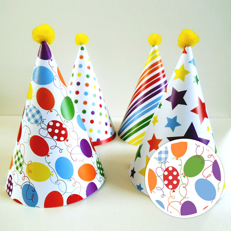 Party hat templates diy party hats step by step tutorial consumer birthday party hat pattern 1st birthday party hats first birthday maxwellsz
