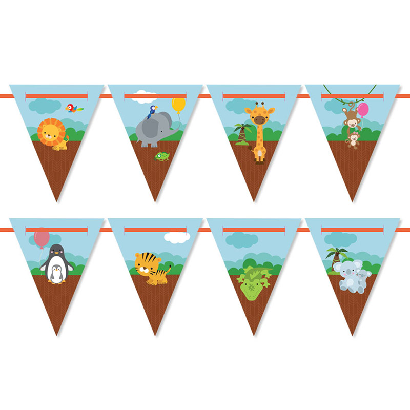 Zoo Party Bunting