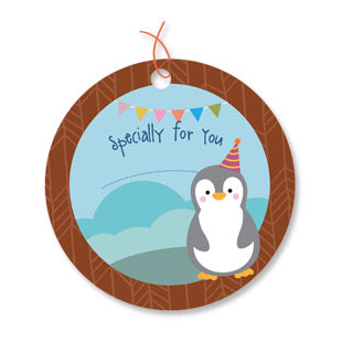 Zoo Party Gift Tags