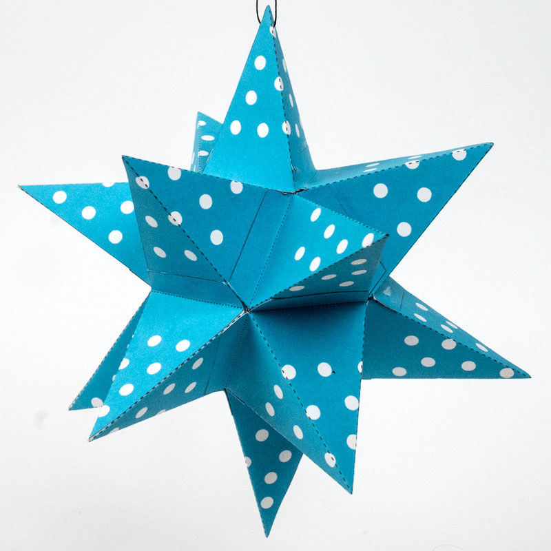 14-Point Star Ornament