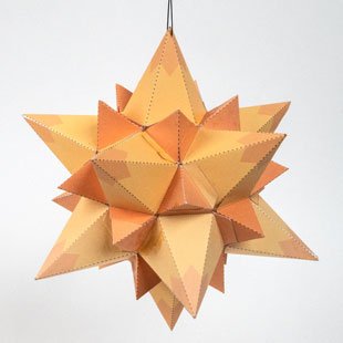 32-Point Star Ornament