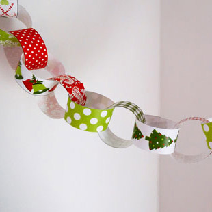 Christmas Paper Chain 1