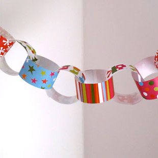 Christmas Paper Chain 2