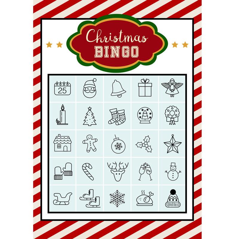 Christmas Bingo.Free Printable Christmas Bingo Creative Center