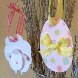 Easter Center Piece Hangers