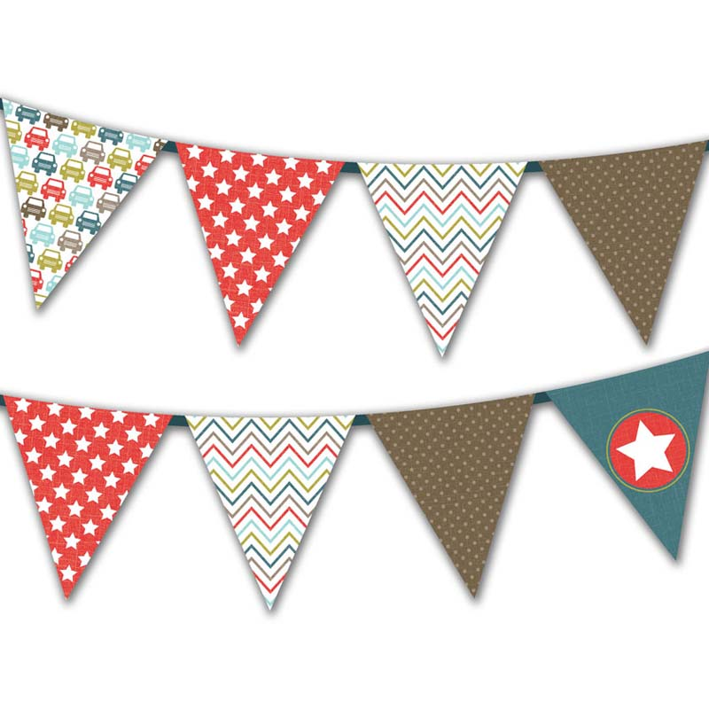 Free Printable Father S Day Triangle Flag Bunting Creative Center
