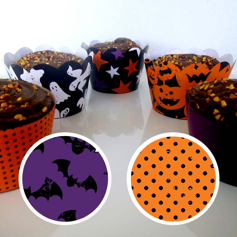 Halloween Cupcake Wrapper 2