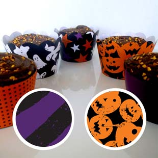Halloween Cupcake Wrapper 3