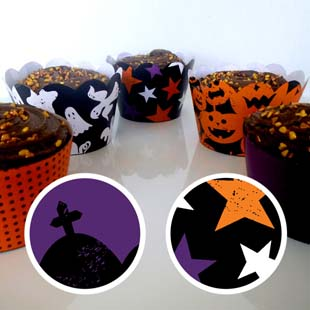 Halloween Cupcake Wrapper 4
