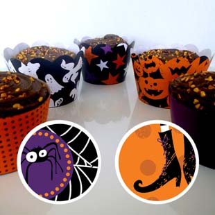 Halloween Cupcake Wrapper 5