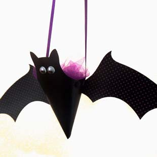 Halloween Hanging Bat Cone