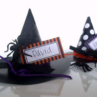 Witches Hat Place Cards