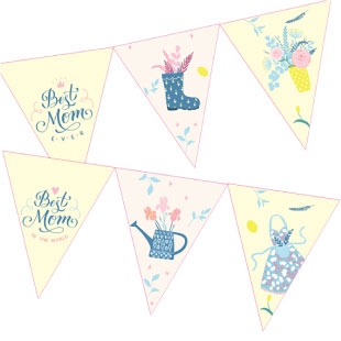 Best Mom Ever Bunting