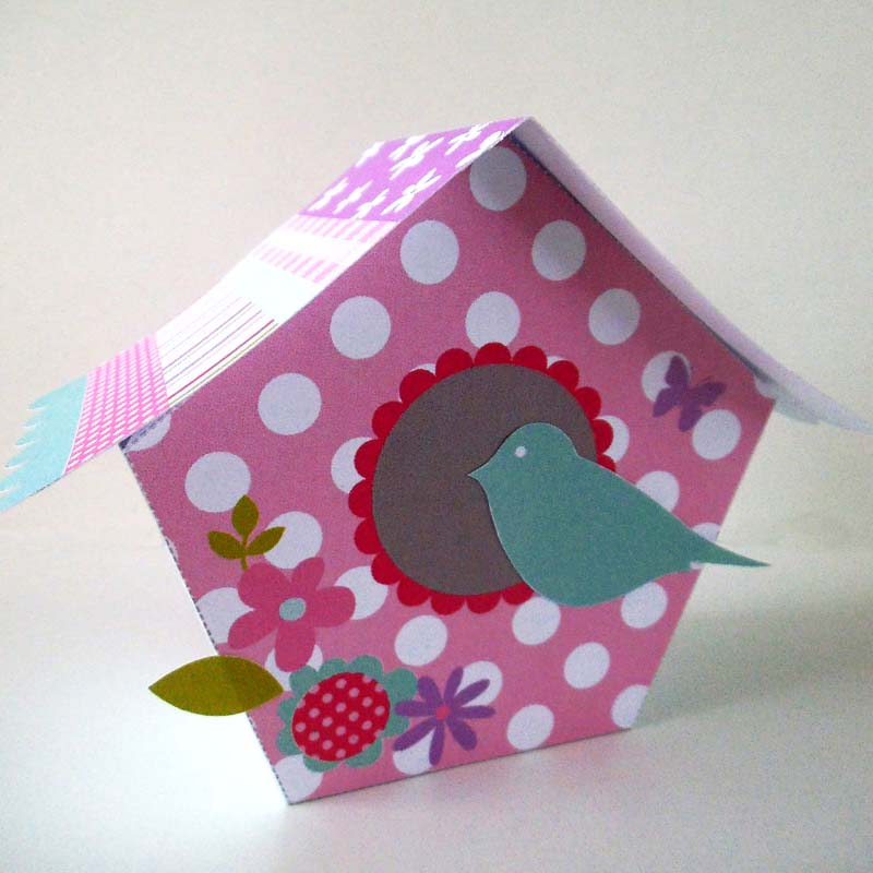 Mothers Day Bird House